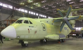 На воронежском авиазаводе первый самолет Ил-112В передали на летные испытания