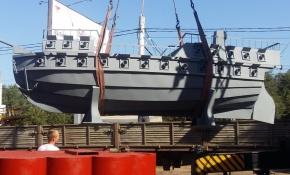 В воронежском сквере «Ильича» приступили к установке корабля «Меркурий». Видео